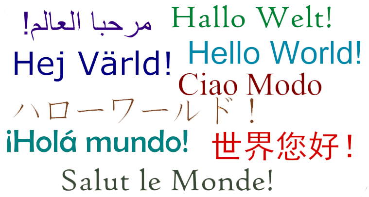 how to say hello in all languages of the world