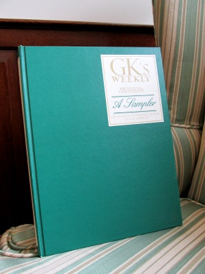 G.K.'s Weekly: A Sampler. Edited with an Introduction by Lyle W. Dorsett. Chicago: Loyola University Press, 1986. Mention this blog post and receive a FREE copy when you visit the Wade during the month of October.