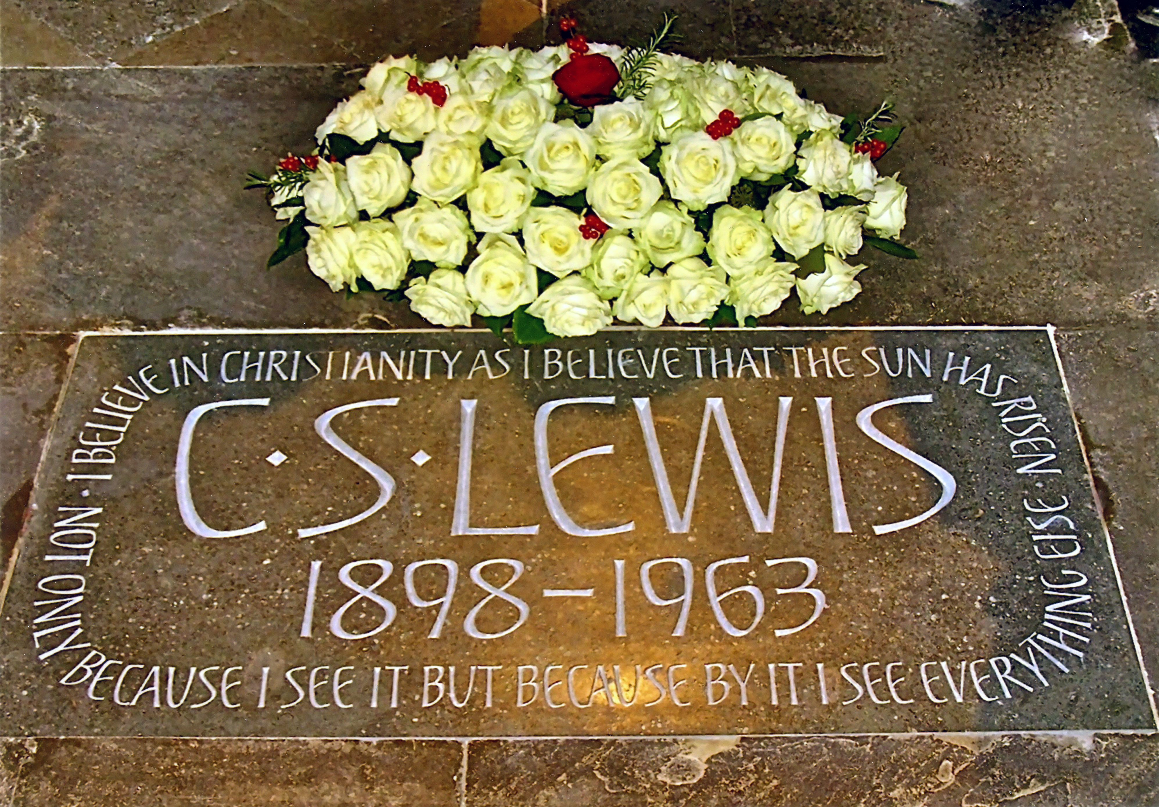 What is the best way to start a research paper on C.S Lewis?