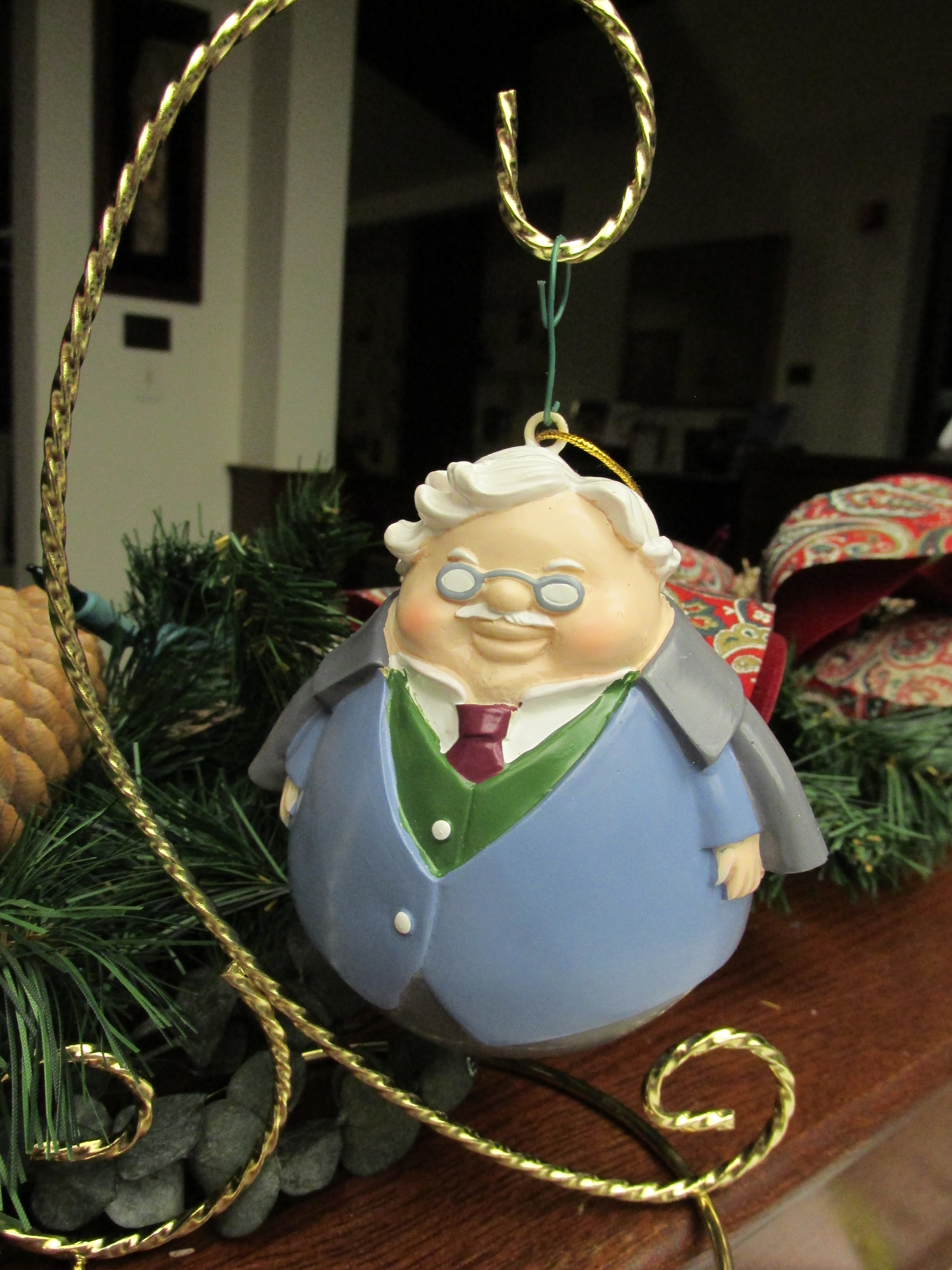 g k chesterton off the shelf this happy little g k chesterton christmas or nt just arrived in the wade center s shop you