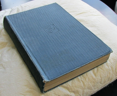 C.S. Lewis's copy of Phantastes by George MacDonald. (London: J.M. Dent & Sons, Everyman edition, undated)