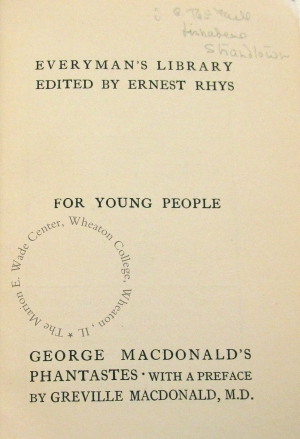 Half-title page