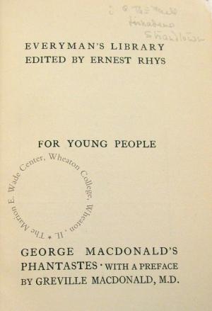 Half-title page