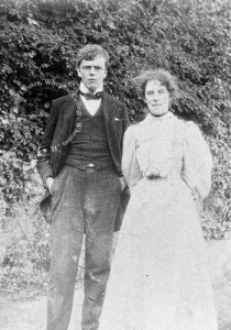 Frances and Gilbert ca. 1898-1900. This photo is property of the Marion E. Wade Center and may not be used without permission.