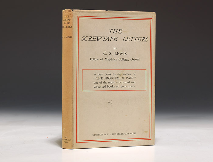 Screwtape Letters First Edition