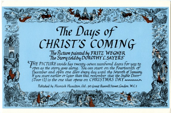 Days of Christ's Coming