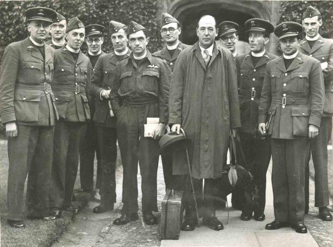 C.S. Lewis at RAF Chaplaincy School, 1944