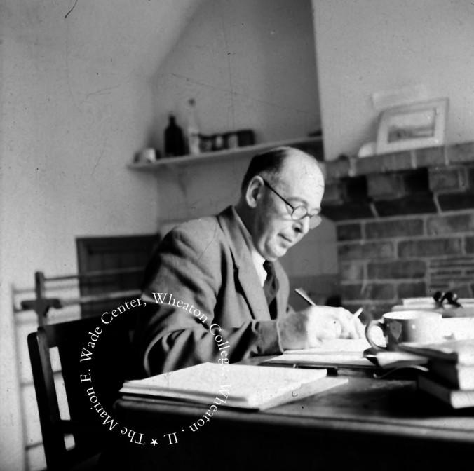 C.S. Lewis, August 1960